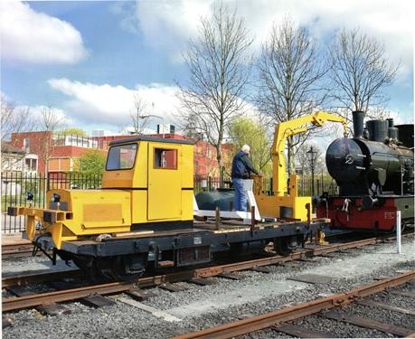 Railbouwwagen KLv 50/8508/KLv51-9339